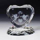 リングピロー/指輪置き/3Dのエンジェル・スワロフスキーを装飾 *名入れ無し商品