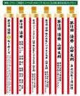 画像2: ☆紅白ペナント名入れサービス / UV印刷 (長さ25cm〜90cmまで対応) 納期14日前後 (2)