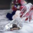 画像4: ガラスの靴(クリスタル製のハイヒール) CH-1 【サンドブラスト彫刻】 シンデレラシューズ (4)