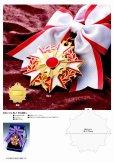 画像1: 勲章メダル No.1 (アンチモニー金属製/直径75mm) (1)