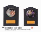 〜JAPAN STYLE〜 木製盾 V098  【蒔絵レリーフ使用 】