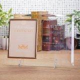 写真立・ガラス製フォトフレーム  DF-2 (キャビネサイズ) / 【サンドブラスト彫刻】 または 【UV印刷】