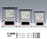 透明アクリル製 盾 K-3080