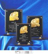表彰楯(木製+透明アクリル板) CK-201 / レーザー彫刻
