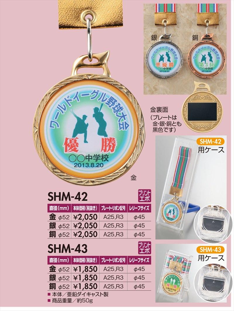 画像1: オリジナルメダル・1個から作成! きれいな透明樹脂盛り! 【SHM-42 / SHM-43】(直径5mm)